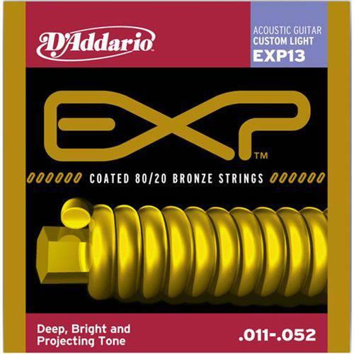 D'addario - Encordoamento Ac 011 para Violão Exp13
