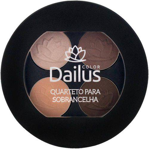 Dailus Color - Quarteto para Sobrancelha