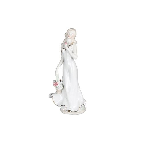 Dama com Flores 30cm