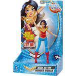 Dc Super Hero Girls Boneca C/ Ação Mulher Maravilha Mattel