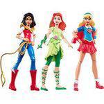 Dc Super Hero Girls - Conjunto de 3 Figuras de Ação
