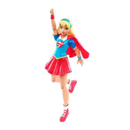 DC Super Hero Girls - Figura de Ação SuperGirl - Mattel