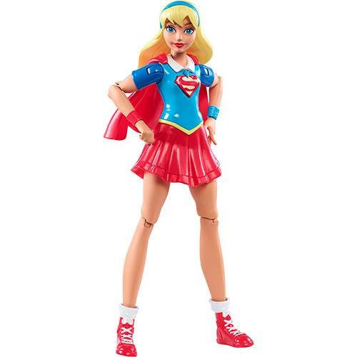 Dc Super Hero Girls - Sortimento Figuras de Ação Dmm32 - Super Girl Dmm34 - Mattel