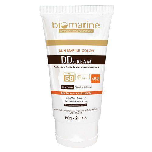 Dd Blur Cream Fps58 Biomarine - Tratamento Antimanchas 60g
