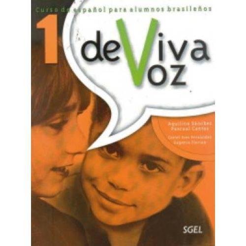 De Viva Voz 1 - Libro Del Alumno Con Cuaderno de Ejercicios - Sgel