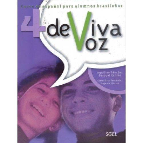 De Viva Voz 4 - Libro Del Alumno Con Cuaderno de Ejercicios - Sgel