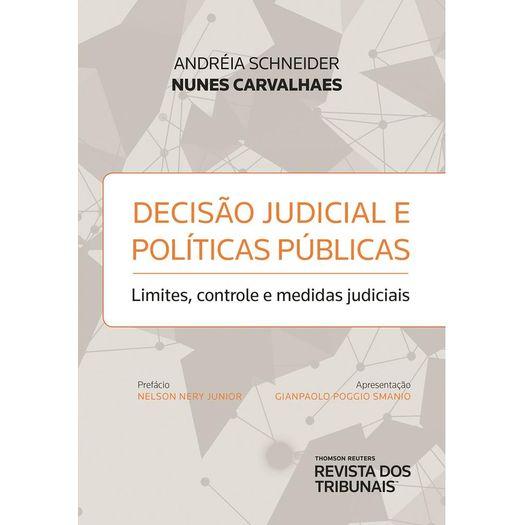 Decisao Judicial e Politicas Publicas - Rt