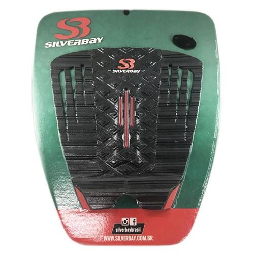 Deck Silverbay Special Cut Preto/Vermelho