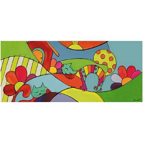 Decor Home com Papel e Mdf Gatinhos Dhpm3-003 - Litoarte