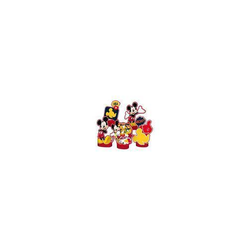 Decoração de Mesa Mickey Clássico - 5 Ítens