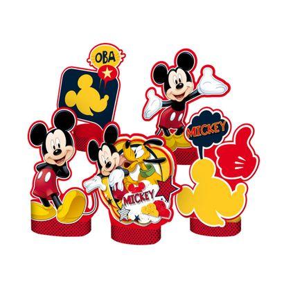 Decoração de Mesa Mickey Mouse 5un Disney Regina