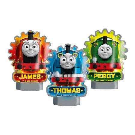 Decoração de Mesa Thomas e Seus Amigos Decoração de Mesa Personagens Thomas e Seus Amigos - 06 Unidades