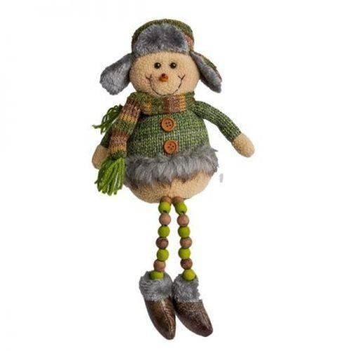 Decoração Natalina - Boneco de Neve Vintage 40cm