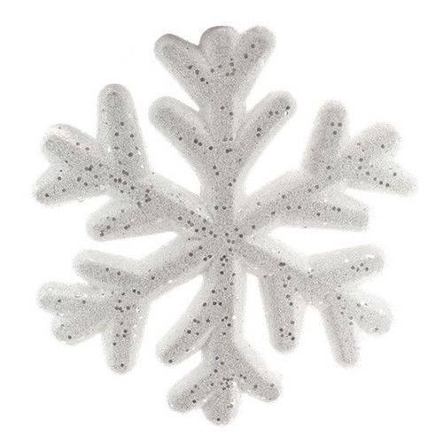 Decoração Natalina - Floco de Neve 25cm