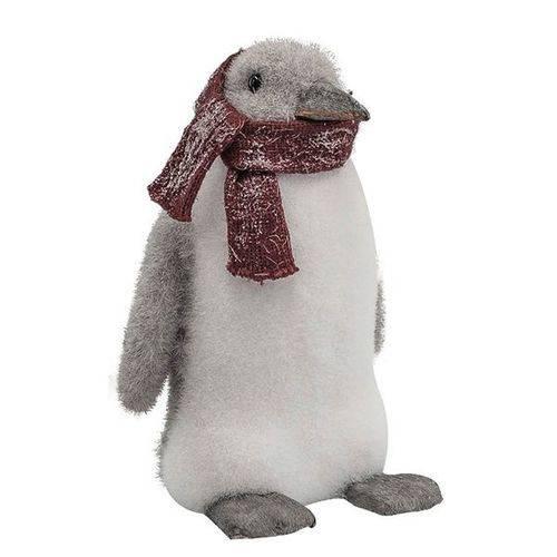 Decoração Natalina - Pinguim Natalino 25cm
