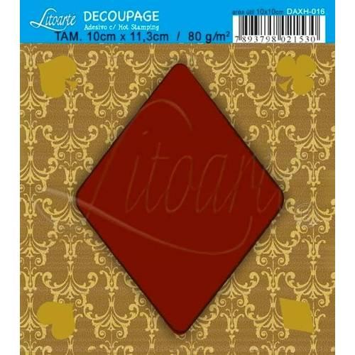 Decoupage Adesiva Q Hot Stamp DAXH-016 Litoarte