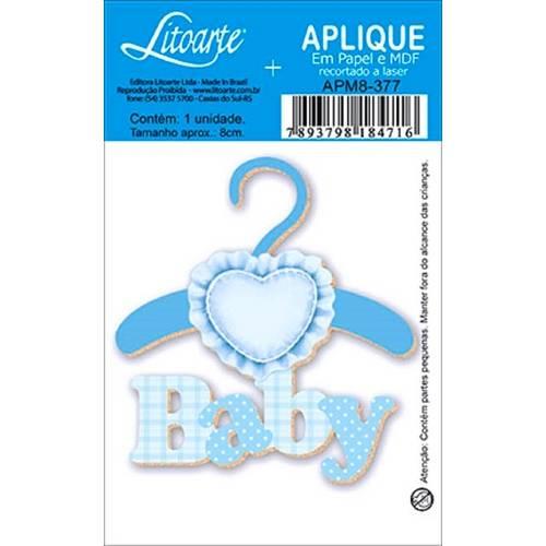 Decoupage Aplique em Papel e Mdf Baby Apm8-377 - Litoarte