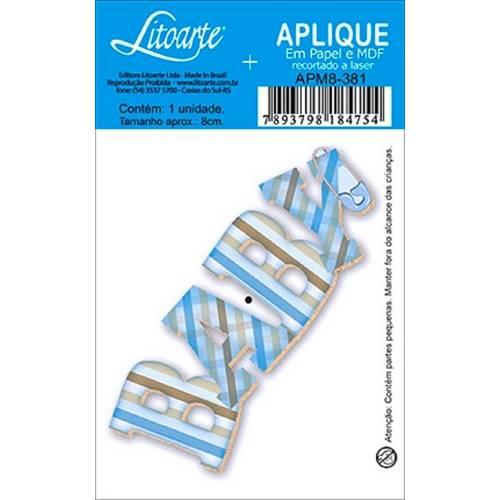 Decoupage Aplique em Papel e Mdf Baby Apm8-381 - Litoarte