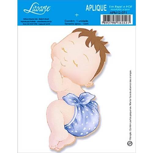Decoupage Aplique em Papel e Mdf Bebê Apm12-071 - Litoarte