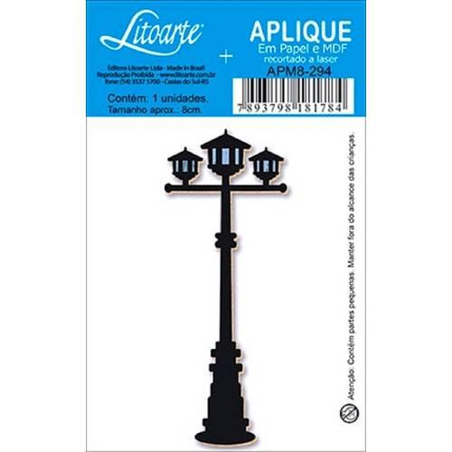 Decoupage Aplique em Papel e Mdf Poste Apm8-294 - Litoarte