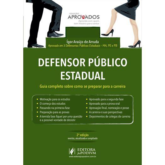 Defensor Publico Estadual - Juspodivm