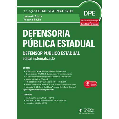 Defensoria Publica Estadual - Juspodivm