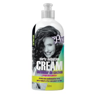 Definidor de Cachos Soul Power - Curly Definition Cream 500ml