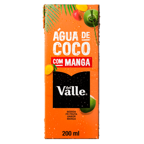 Del Valle Água de Coco com Manga 200ml