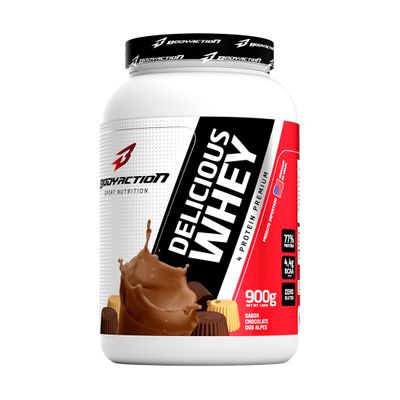 Delicious Whey 900g Body Action Delicious Whey 900g Chocolate dos Alpes Body Action