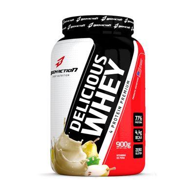 Delicious Whey 900g Body Action Delicious Whey 900g Vitamina de Pêra Body Action