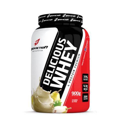 Delicious Whey (900g) Body Action - Vitamina de Pera