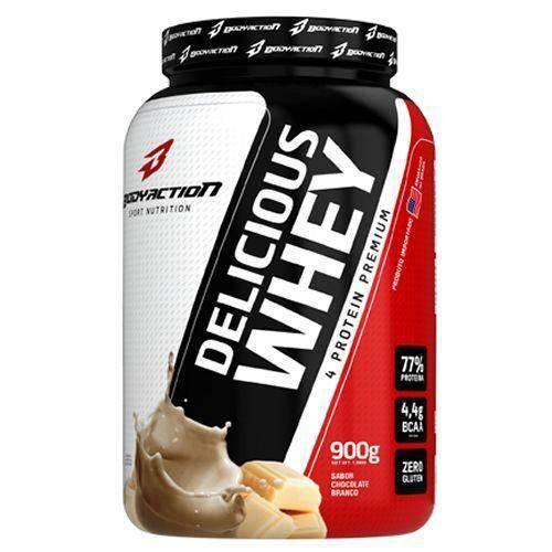 Delicious Whey (900G) (Chocolate Branco) - Body Action