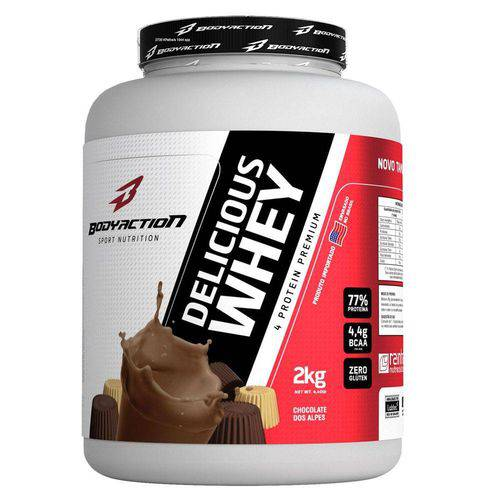 Delicious Whey (2kg) (Chocolate dos Alpes) - Body Action