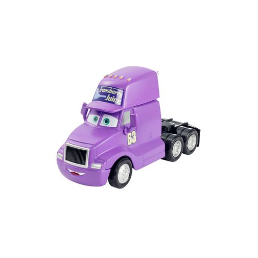 Deluxe Carros Disney - Transberry Juice Cab - Mattel