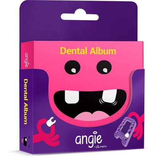 Dental Album Premium Cor Rosa - um Jeito Divertido de Colecionar do Dentes de Leite