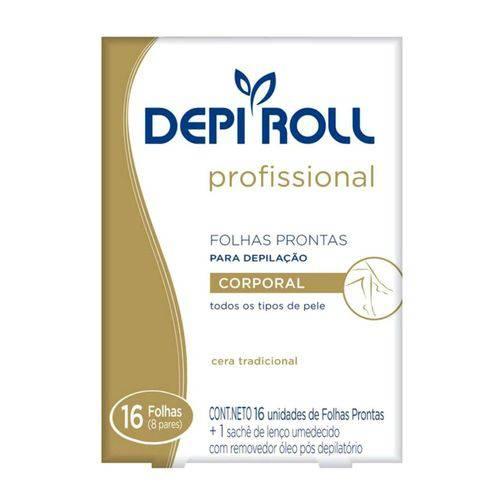 Depi-roll Fls Pron.depilação Corporal 8p.trad