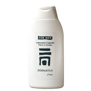 Dermatus For Men Sabonete Face e Corpo Dermatus - Limpador Facial e Corporal 270ml