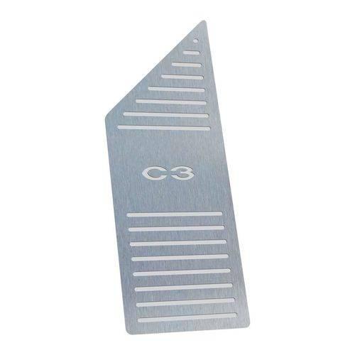 Descanso de Pé Citroen C3 2003 Até 2012 Aço Inox