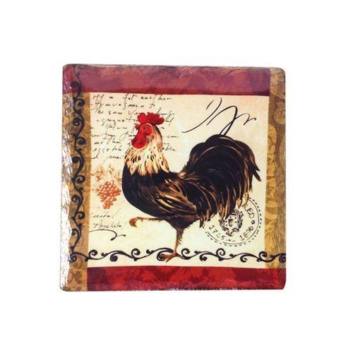 Descanso para Panela Chicken 16x16cm