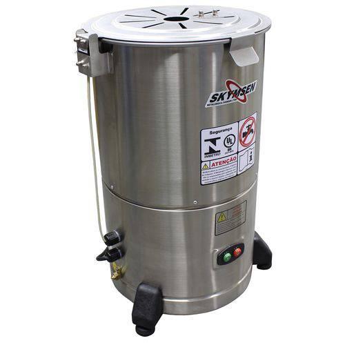 Descascador de Tubérculos Skymsen DB-06 0.5Cv 300W 6Kg Inox