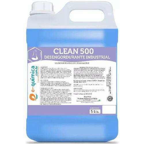 Desengordurante Desincrustante Industrial Clean 500- 5 L