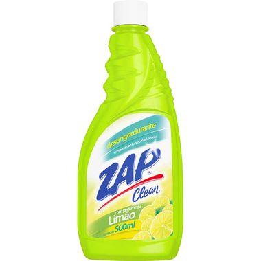 Desengordurante Zap Clean Limão Refil 500ml