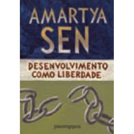 Desenvolvimento Como Liberdade - Cia de Bolso