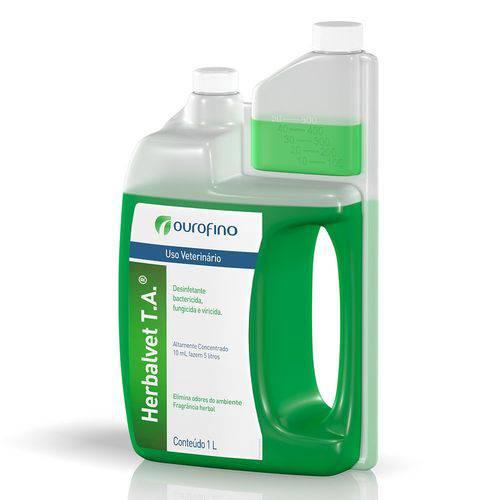 Desinfetante Bactericida Ourofino Herbalvet T.A 1000ml