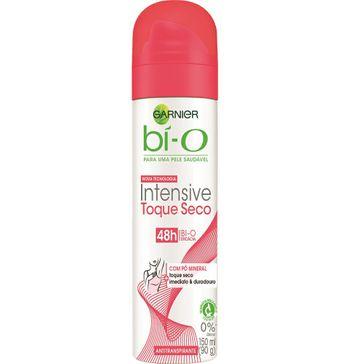 Desodorante Aerosol Bi-o Intensive Toque Seco Feminino 150 Ml