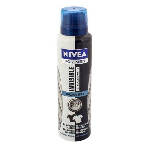Desodorante Aerosol Invisible Black White Power - 97g
