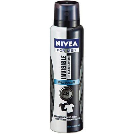 Desodorante Aerosol Nivea Masculino Black White Power 150ml