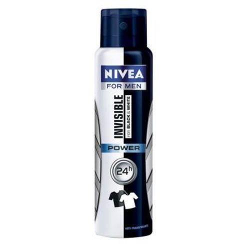 Desodorante Aerosol Nivea Men Invisible For Black & White