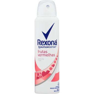 Desodorante Aerossol Frutas Vermelhas Rexona 150ml