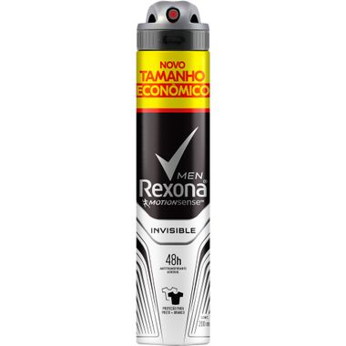 Desodorante Aerossol Men Invisible Rexona 120g